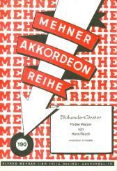 Rauch, Hans: Blühender Ginster: für Akkordeonorchester, Partitur