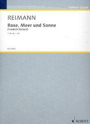 Reimann, Aribert: Rose, Meer und Sonne für Bariton