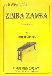 Richards, Goff: Zimba Zamba für Marimba und Klavier