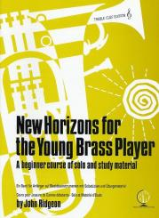 Ridgeon, John: New Horizons for the young Brass Player for brass instrument treble clef