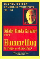 Rimski-Korsakow, Nicolai: Hummelflug für Trompete und Harfe (Klavier)