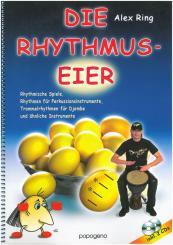 Ring, Alexander: Die Rhythmus-Eier (+2 CD's) für Perkussionsinstrumente