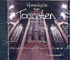 Romantische Toccaten für Orgel, CD
