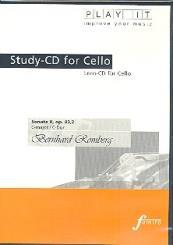 Romberg, Bernhard Heinrich: Sonate Nr.3 op.43,2 für Violoncello und Klavier Playalong-CD