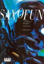 Schlott, Volker: Saxofun (+CD) 22 Solo-, Duo-, Trio- und Quartettstücke für alle Saxophone, Partitur und Stimmen