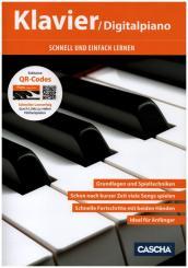 Schnell und einfach lernen (+QR-Codes): für Klavier (Digitalpiano)