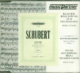 Schubert, Franz: Die schöne Müllerin D795 CD mit Klavierbegleitung zum Sologesang (hoch)