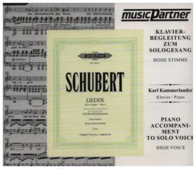 Schubert, Franz: Schwanengesang D957 hoch CD - Klavierbegleitung, KAMMERLANDER, KARL, Klavier