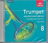 Selected Trumpet (Cornet) Exam Pieces 2010 Grade 8 CD