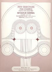 Shifrin, Seymour: 3 Pieces for violin (1 solo/1 with cello/ 1 with piano)