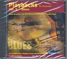 Sieghart, Jörg: Playbacks für Drummer vol.5 CD Blues