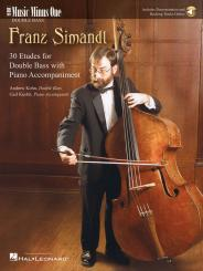 Simandl, Franz: 30 Etudes (+audio) for string bass and piano