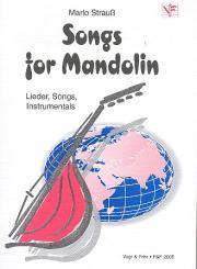 Songs for Mandolin Lieder, Songs, Instrumentals für 1-3 Mandolinen, Partitur