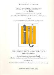 Spiel- und Übungsbuch Band 4 für 2 Instrumente im Quartabstand, Spielpartitur