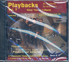 Substyle: Playbacks for Drummer vol.7 CD Vocal Tracks vol.1 (Rock)