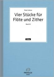 Suitner, Peter: 4 Stücke op.41 für Flöte und Zither