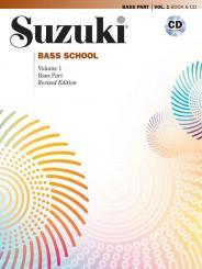 Suzuki, Shinichi: Suzuki Bass School vol.1 (+CD) revised edition 2014