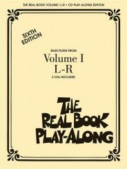 The Real Book Playalong vol.1 (L-R) 3 CD's, sixth edition