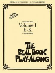 The Real Book Playalong vol.1 (E-K) 3 CD's, sixth edition