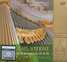 Vierne, Louis Victor Jules: Pièces de fantaisie Band 2 CD