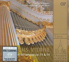 Vierne, Louis Victor Jules: Pièces de fantaisie Band 1 CD