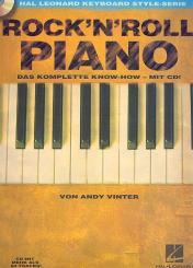 Vinter, Andy: Rock'n'Roll Piano (+CD): Das komplette Know-how