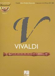 Vivaldi, Antonio: Konzert a-Moll RV108 (+CD) für Altblockflöte und Orchester, Altblockflöte