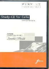 Vivaldi, Antonio: Konzert C-Dur RV399 für Violoncello und Klavier, Playalong - CD