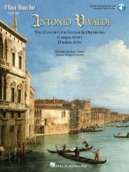 Vivaldi, Antonio: Music Minus One Guitar (+ backing tracks audio online ) 2 Concerti for guitar and orchestra