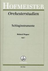 Wagner, Richard: Orchesterstudien für Schlaginstrumente Band 1