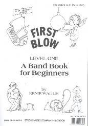 Waites, Ernie: First Blow Level 1: 4. Stimme in C
