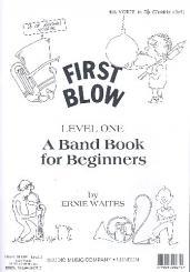 Waites, Ernie: First Blow Level 1: 4. Stimme in B im Violinschlüssel