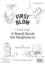Waites, Ernie: First Blow Level 1: 3. Stimme in Es
