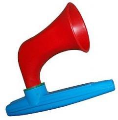 Wazoo Kazoo aus Kunststoff, mit Horn als Verstärker