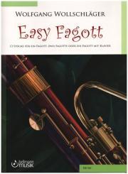 Wollschläger, Wolfgang: Easy Fagott für 1-2 Fagotte (Fagott und Klavier), Spielpartitur und Stimmen