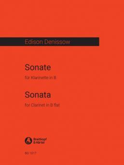 Denissow, Edison: Sonate 1972 für Klarinette solo