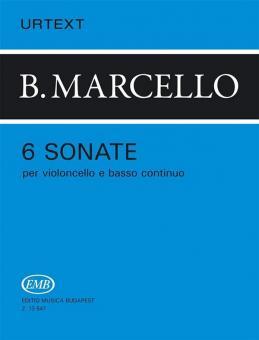 Marcello, Benedetto: 6 Sonaten für Violoncello und Bc