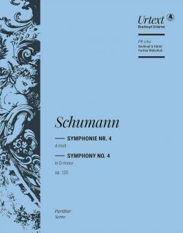 Schumann, Robert: Sinfonie d-Moll Nr.4 op.120 für Orchester, Partitur