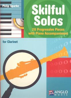 Sparke, Philip: Skilful Solos - 20 Progressive Pieces for Clarinet and Piano
