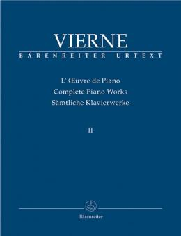 Vierne, Louis Victor Jules: Sämtliche Klavierwerke Band 2